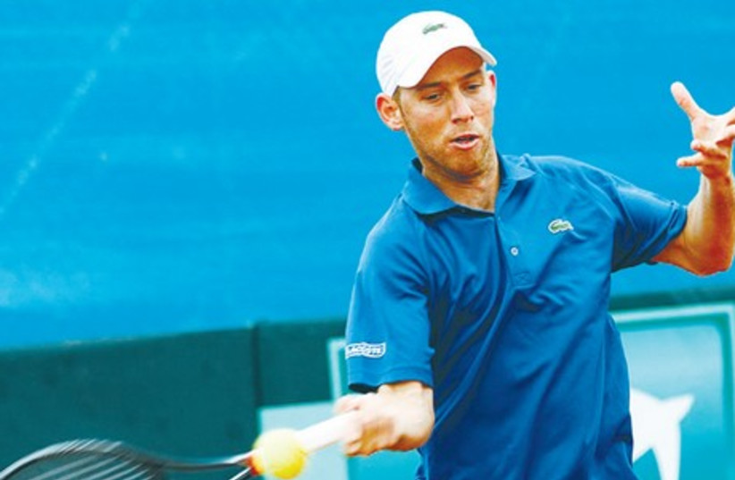 Dudi Sela looks set to have an ATP tournament on home soil to look forward to, with Ramat Hasharon expected to replace St. Petersburg as the host of a 250 series event in September. (photo credit: OFRA FRIEDMAN, ITA)