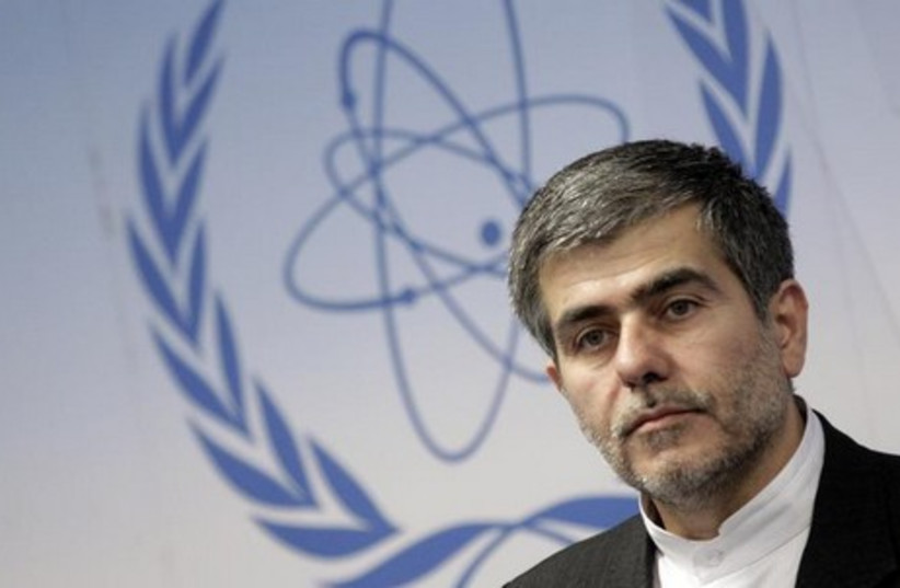 Former head of Iran Atomic Energy Organization Fereydoon Abbasi-Davani (photo credit: REUTERS)