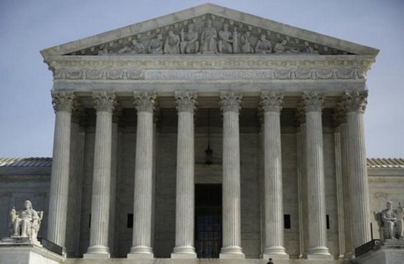US Supreme Court. (photo credit: REUTERS)