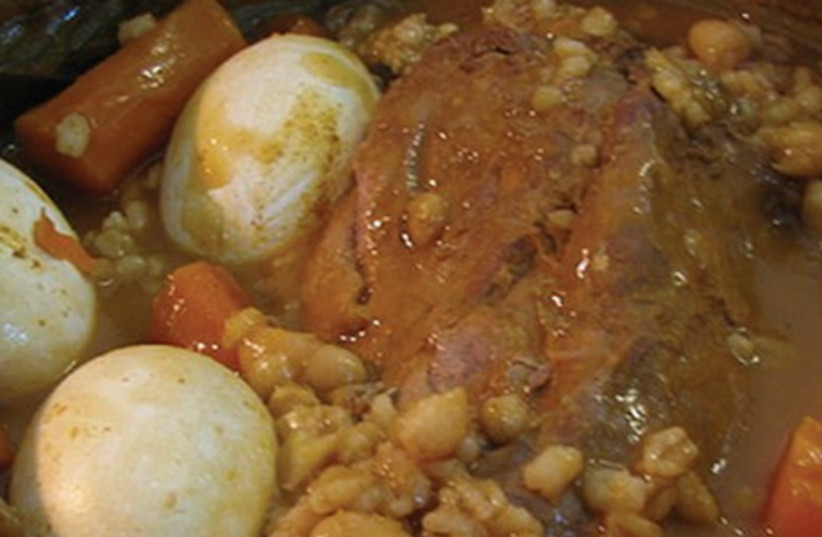Cholent in Jerusalem (photo credit: Courtesy)