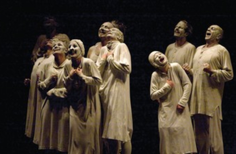 French dance company Maguy Marin presents 'May B' at the Suzanne Dellal Tel Aviv Dance Festival (photo credit: Courtesy)