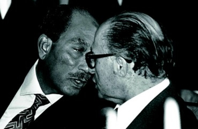 35 ans de paix avec l'Egypte: occasions manquées et questions pour l'avenir (photo credit: REUTERS)