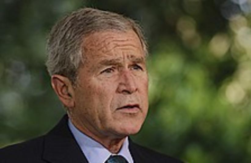 george bush 224.88 (photo credit: AP)