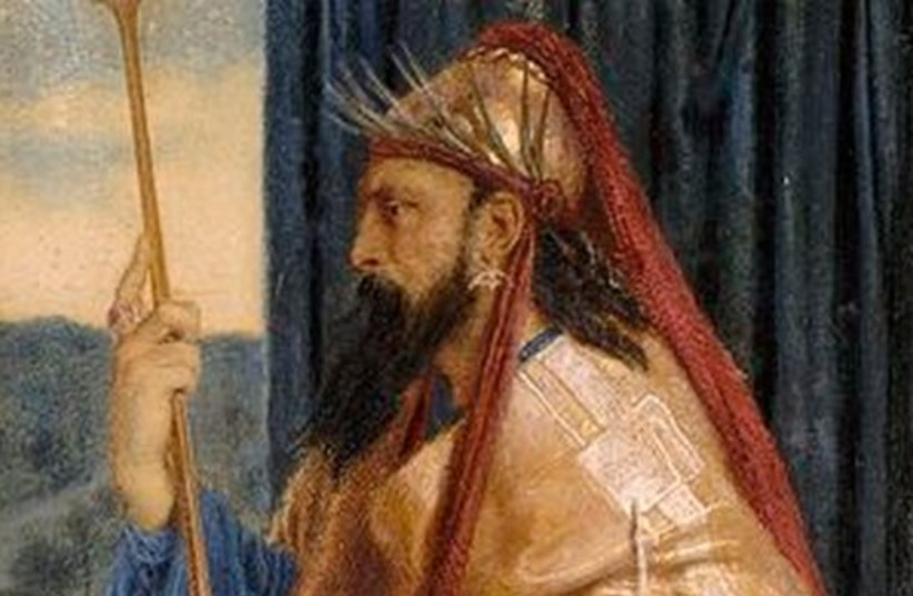 Hassidic tales - King Solomon (photo credit: Wikimedia Commons)