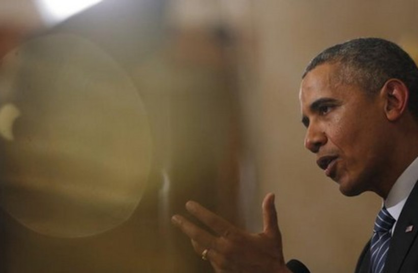 US President Barack Obama (photo credit: REUTERS)