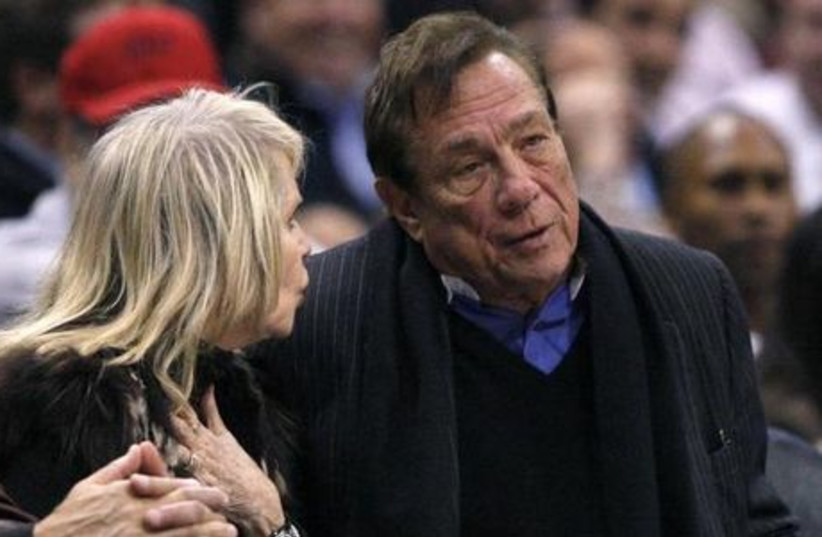Los Angeles Clippers owner Donald Sterling. (photo credit: REUTERS)