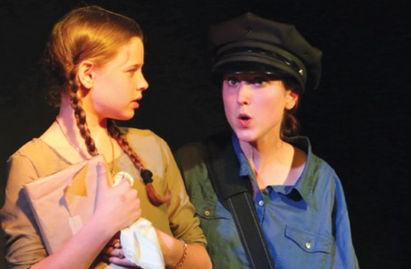 A scene from J-Town Playhouse Theater's production of 'Kindertransport.'  (photo credit: DEVORAH ROSE)
