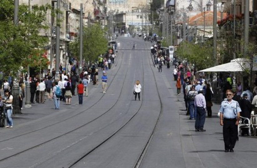 Holocaust siren (photo credit: REUTERS)