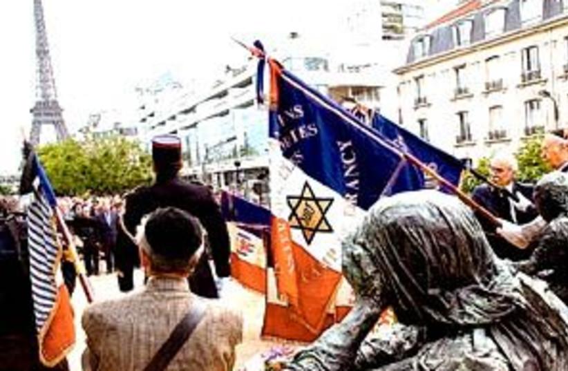 french jews rally 298 (photo credit: AP)