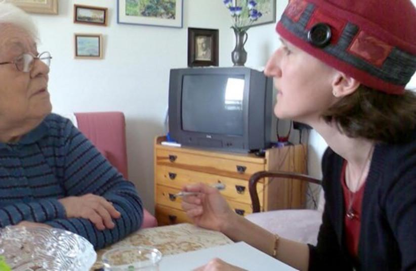 Aviva Silberman, founder and director of Aviv Lenizolei HaShoah assists Holocaust survivors realize their rights. (photo credit: COURTESY AVIV LENITZOLEI HASHOAH)