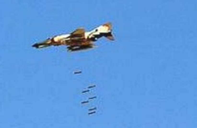 Iranian fighter jet 224.88 (photo credit: AP)