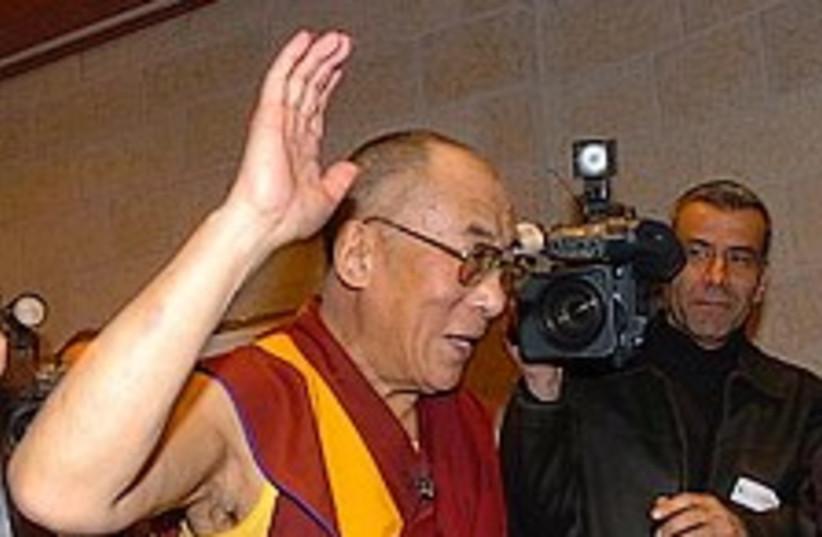 Dalai lama 224.88 JP (photo credit: Ariel Jerozolimski)