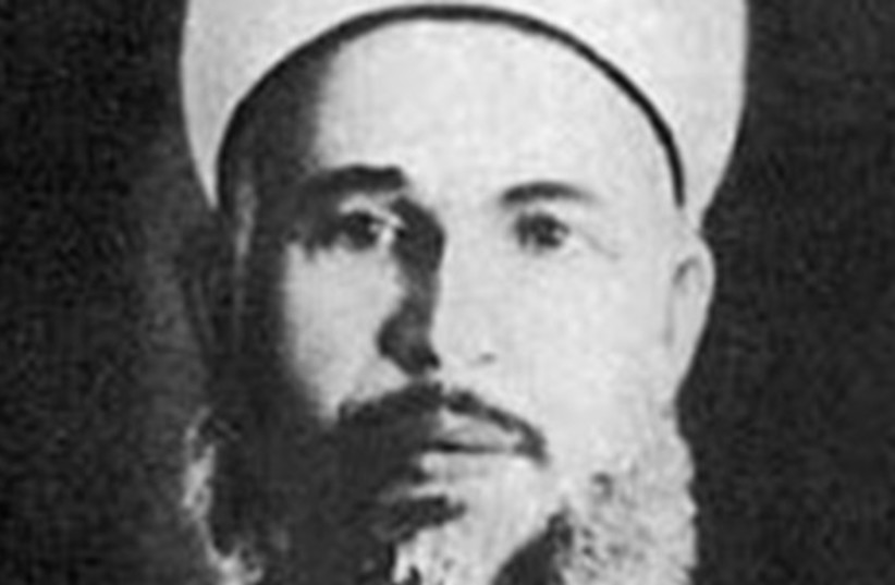 A photograph of Izz ad-Din al-Qassam. (photo credit: Wikimedia Commons)