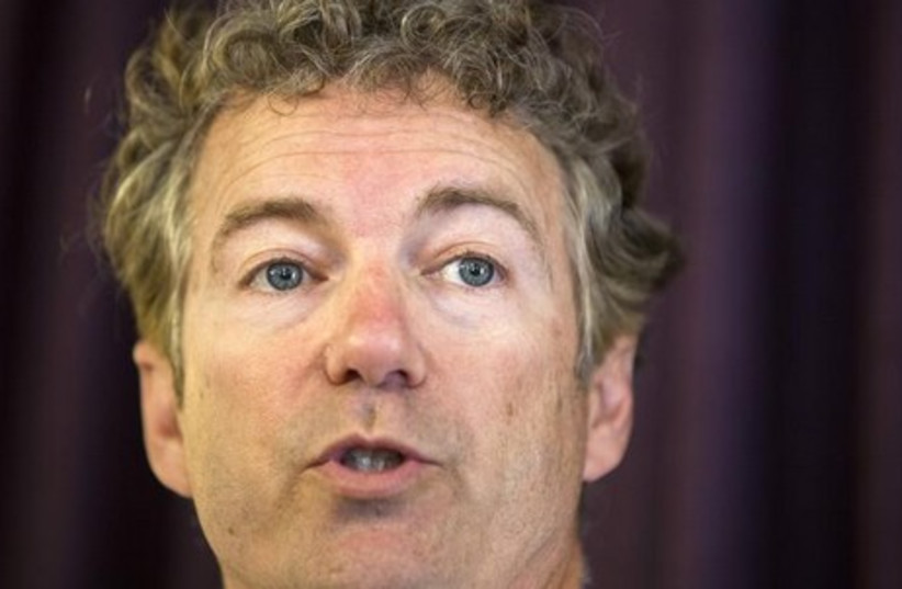 US Senator Rand Paul (R - Kentucky) (photo credit: REUTERS)