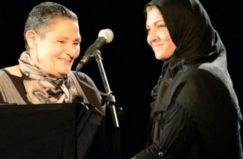 Bushra Abu-Ayash and Robi Damelin (photo credit: Courtesy)