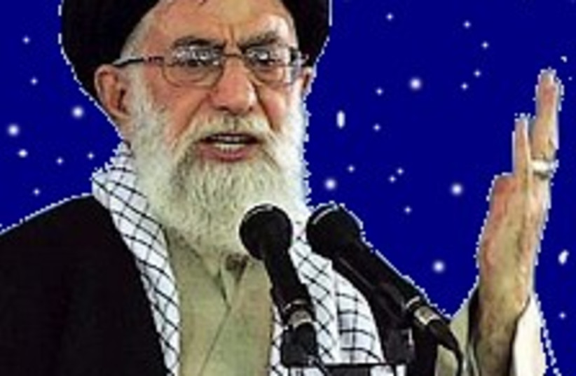 mullahs in space 224.88 (photo credit: AP / Rendring by Jonathan Beck)