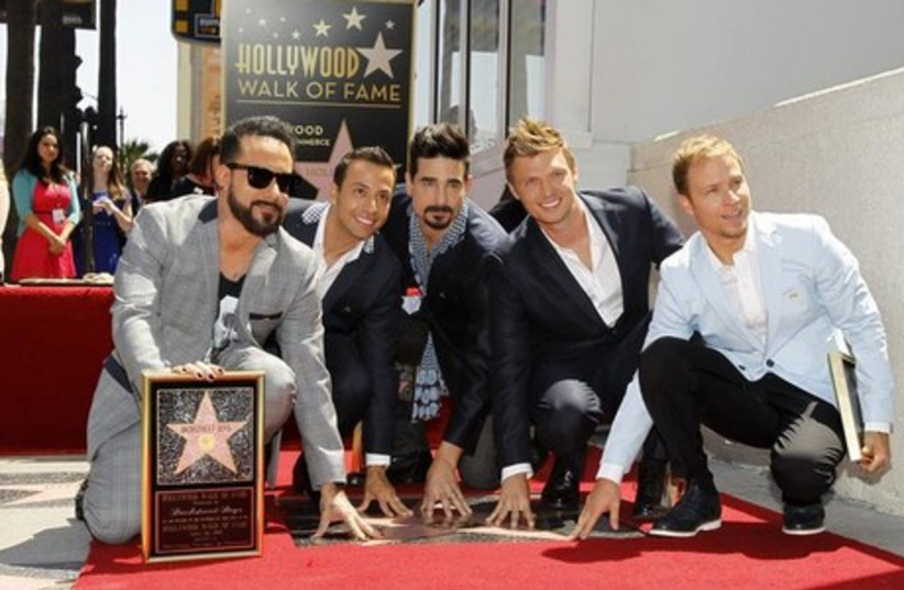 The Backstreet Boys (photo credit: REUTERS)