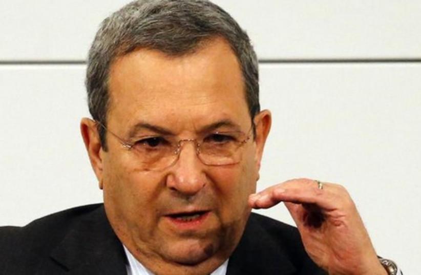 Former prime minister Ehud Barak (photo credit: REUTERS)