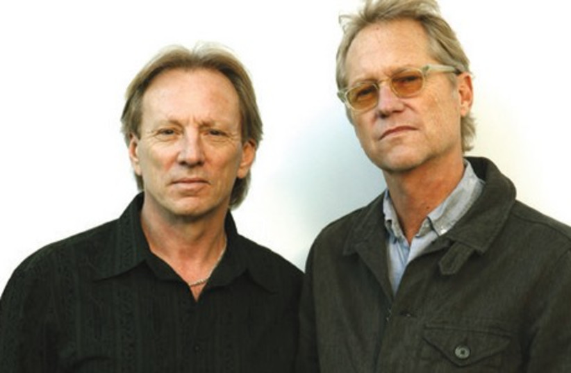 Gerry Beckley (R) and Dewey Bunnell of the hit band America. (photo credit: Courtesy)