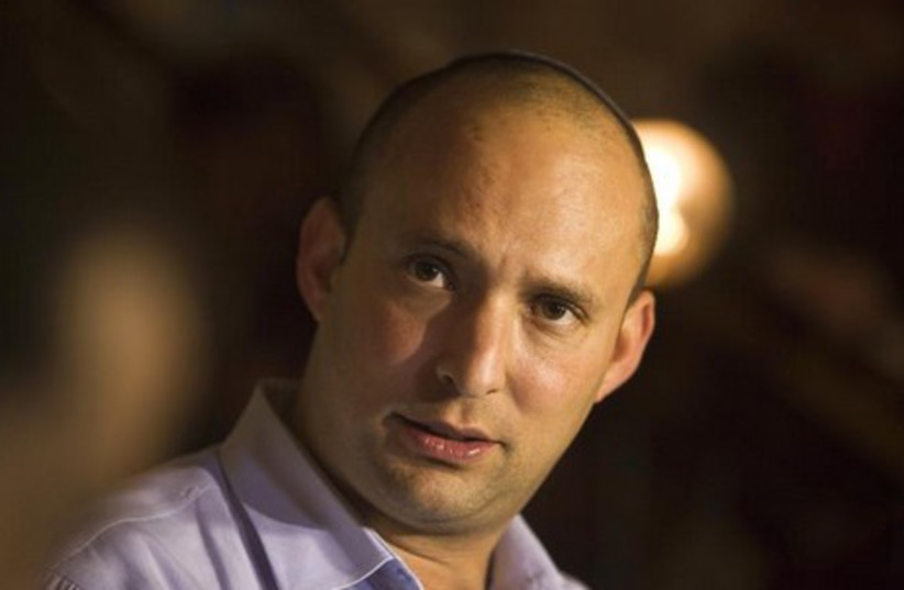 Naftali Bennett. (photo credit: REUTERS)