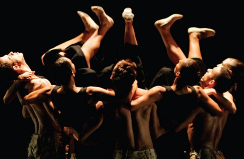 The Sao Paolo Dance Company makes its Israeli debut in Herzliya (photo credit: JOAO CALDAS)