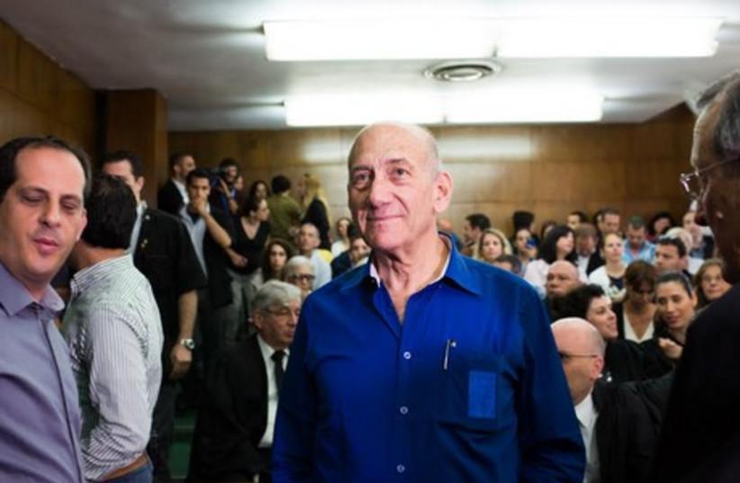 Former Prime Minister Ehud Olmert (photo credit: YOTAM RONEN)