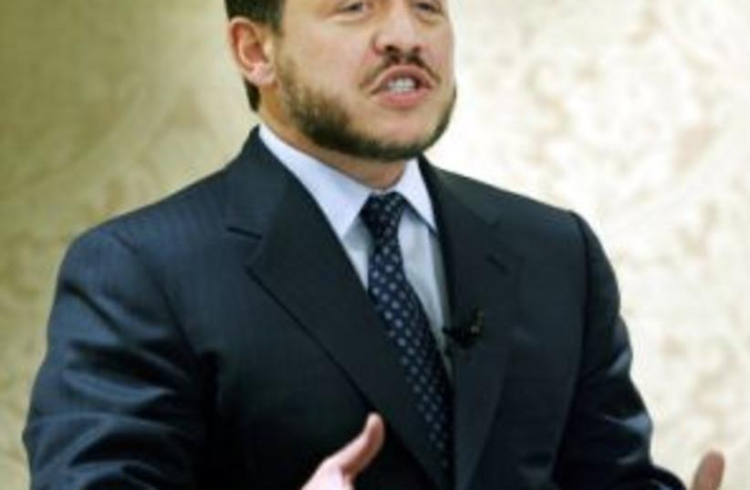 abdullah of jordan 298ap (photo credit: AP [file])