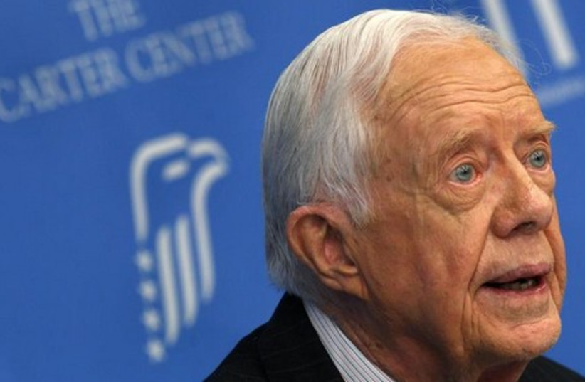 Former US President Jimmy Carter. (photo credit: REUTERS)