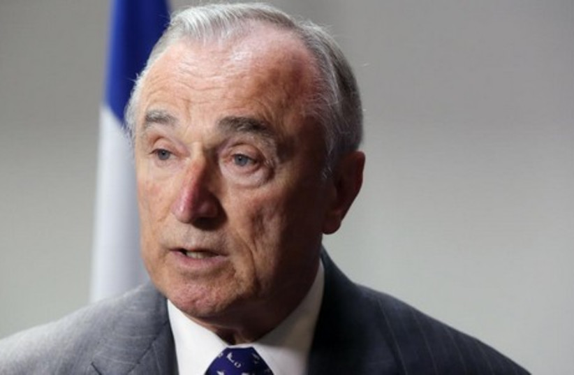 NYPD Commissioner William Bratton (photo credit: MARC ISRAEL SELLEM)