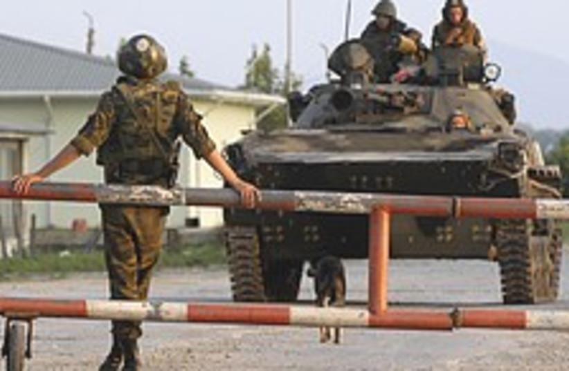 Russian troops 224.88 (photo credit: AP)