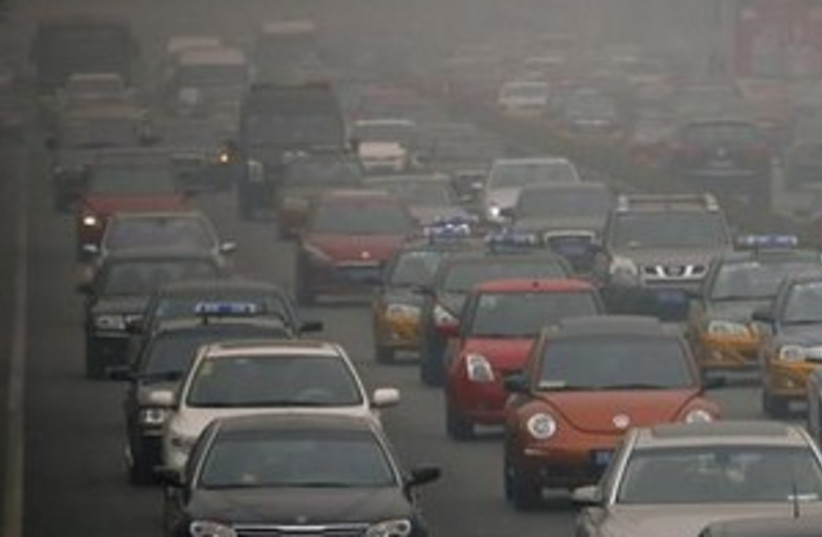 Car pollution (photo credit: REUTERS)