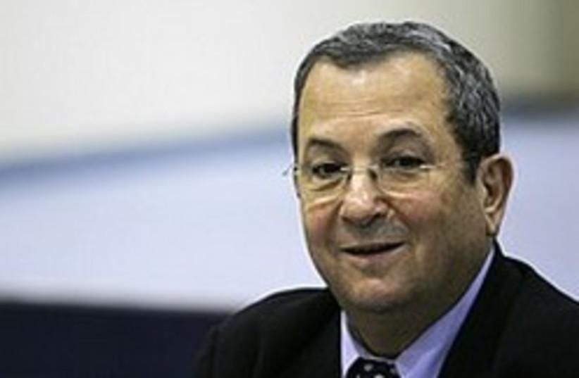 ehud barak happy 248.88 (photo credit: AP)