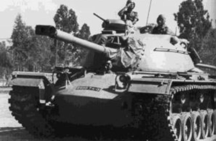 b&w idf tank 1967 298 88 (photo credit: IDF)
