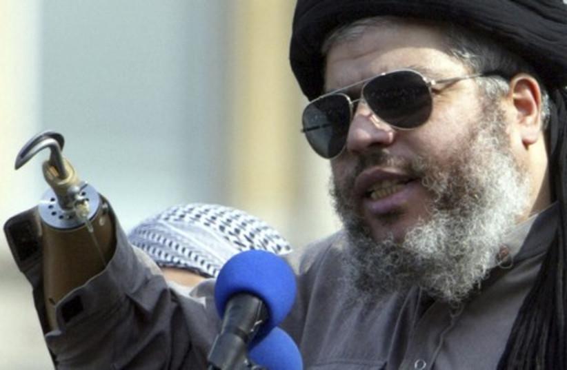 London-based Islamic fundamentalist Abu Hamza Al-Masri. (photo credit: REUTERS)