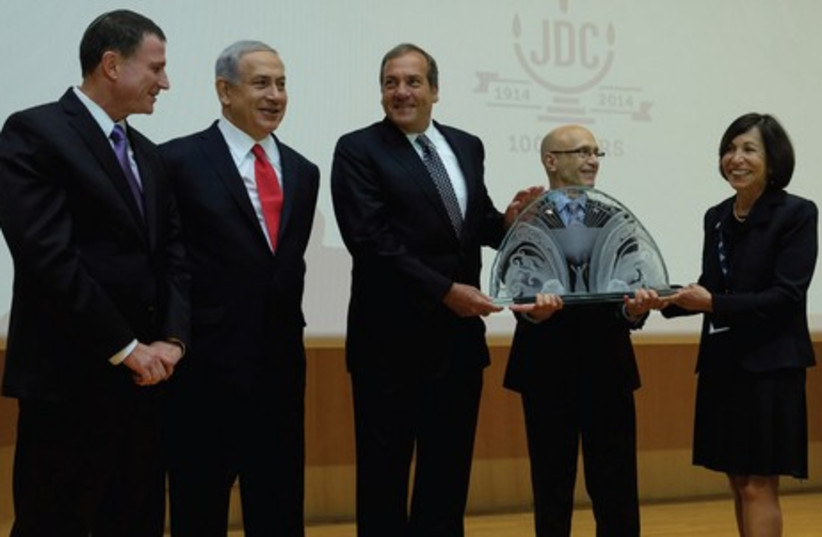 JDC honors Yechiel Eckstein (photo credit: Oren Nahshon)