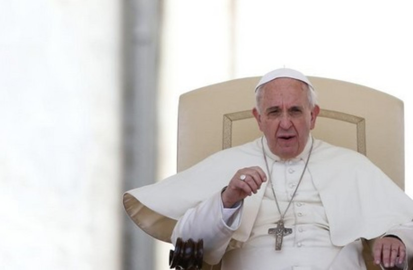 Pope Francis. (photo credit: REUTERS)