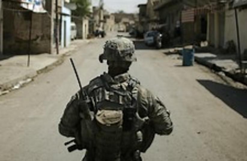 US soldier Iraq wild west 224.88 (photo credit: AP [file])