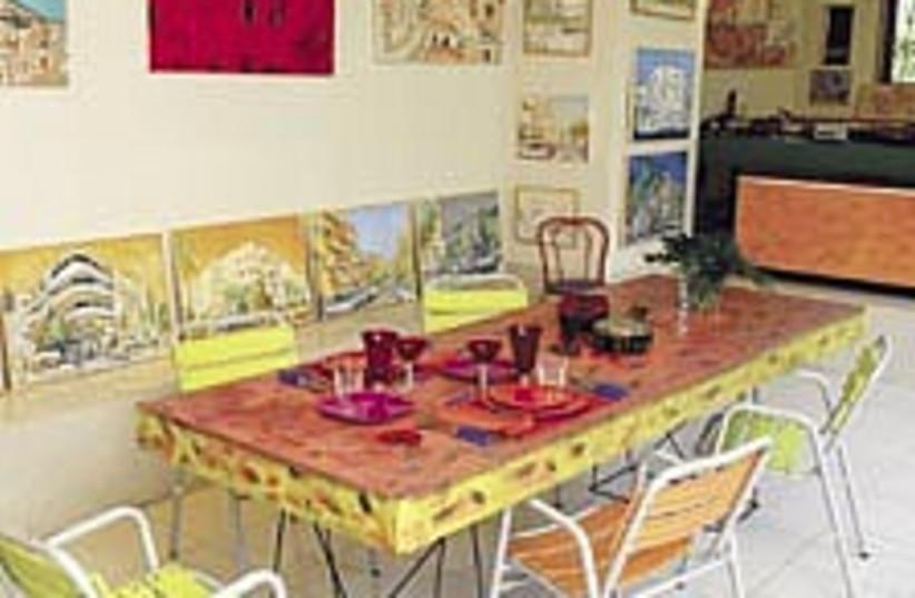 dining table 224.88 (photo credit: Eyal Izhar)