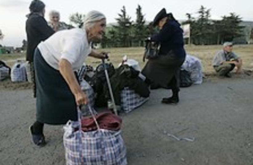 Elderly georgia 224.88 (photo credit: AP)
