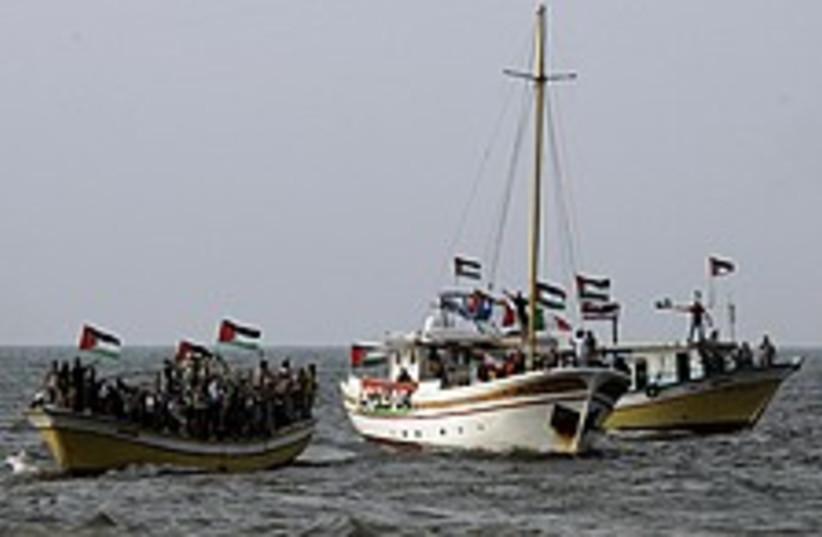 gaza boats 224.88 (photo credit: AP)