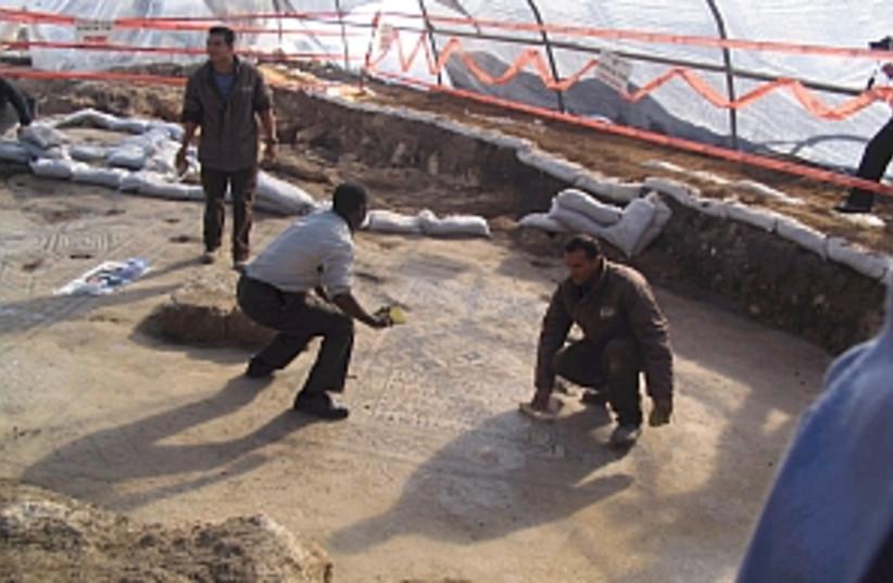 megiddo excavations 298 (photo credit: Daniel Ben-Tal)