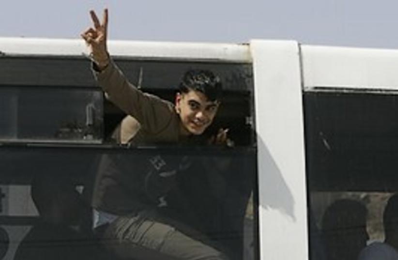 palestinian prisoner release V 224.88 ap (photo credit: Courtesy)
