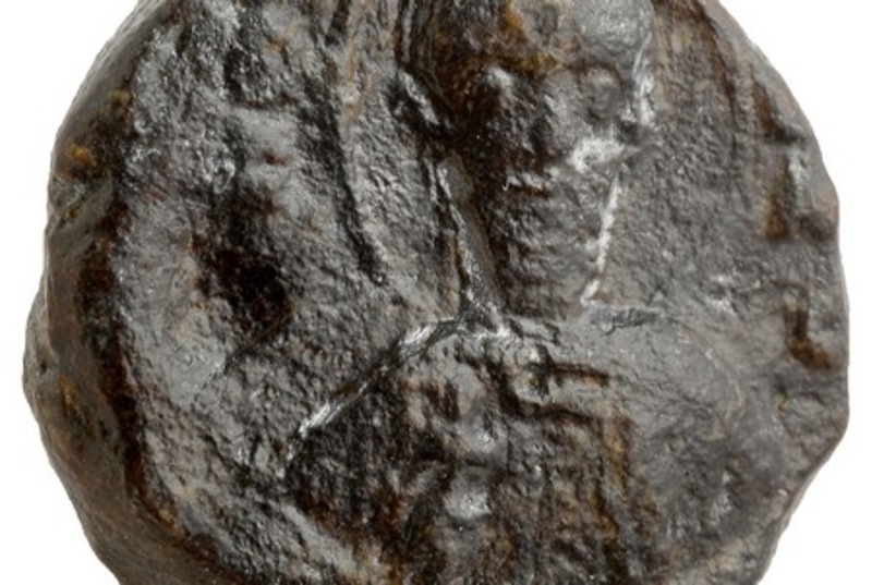 Crusade-era seal (photo credit: IAA)