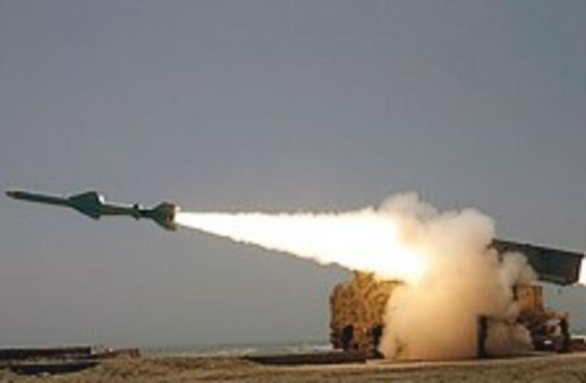 Iran submarine missile 224.88 (photo credit: AP)