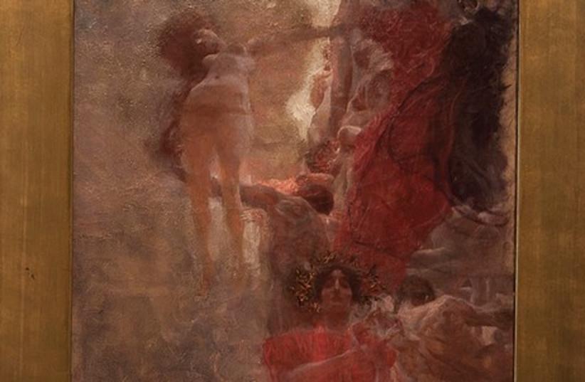 GUSTAV KLIMT'S 'Die Medizin' (photo credit: ISRAEL MUSEUM)