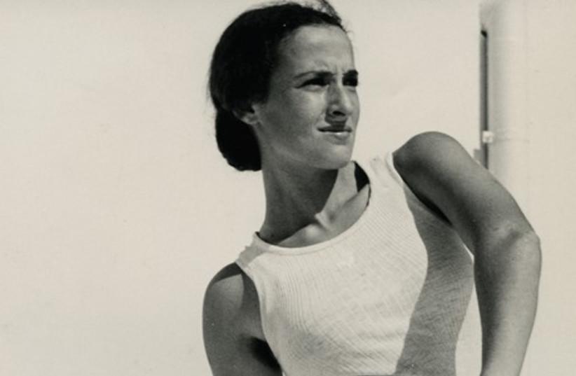 Liselotte Grschebina, 'Discus thrower,' (photo credit: ISRAEL MUSEUM)