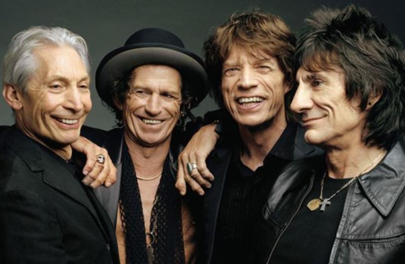 Tel Aviv gets ready for the Rolling Stones (photo credit: JERUSALEM POST)