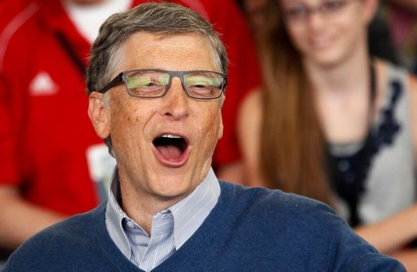 Microsoft founder Bill Gates (photo credit: REUTERS)