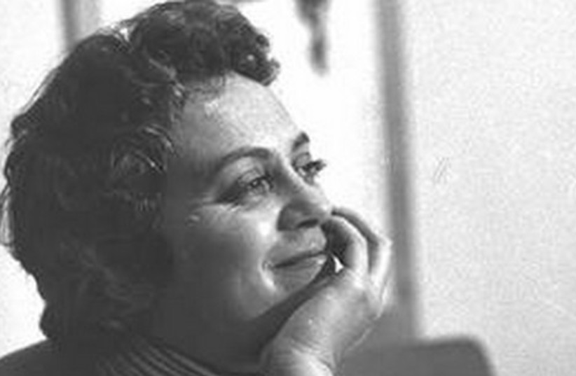 Hanna Maron in 1957. (photo credit: WIKIMEDIA COMMONS/ISRAEL NATIONAL PHOTO COLLECTION)