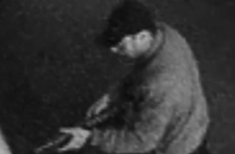 suspect in Brussels Jewish Museum shooting (photo credit: BELGIUM POLICE)